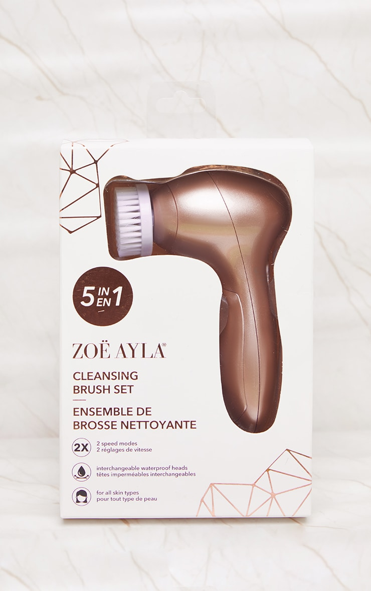 Zoe Ayla 5 In 1 Electric Facial Cleansing Kit 2