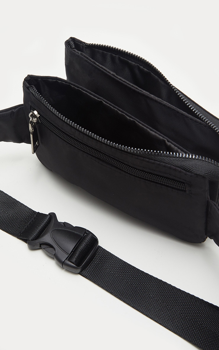 Black Thin Fanny Pack 4