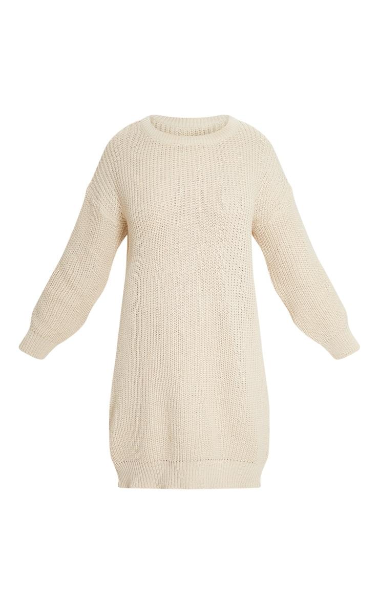 Stone Basic Knit Jumper Dress 3