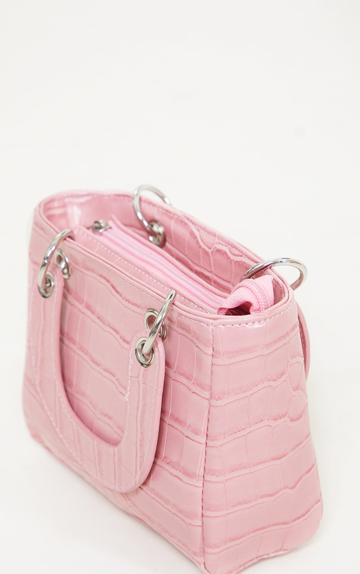 Pink Croc Mini Grab Bag 3