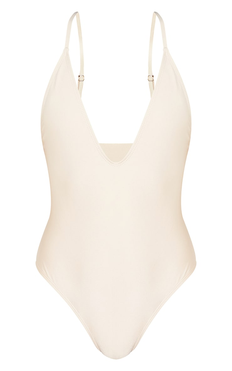 Petite Stone Basic Low Scoop Swimsuit 5