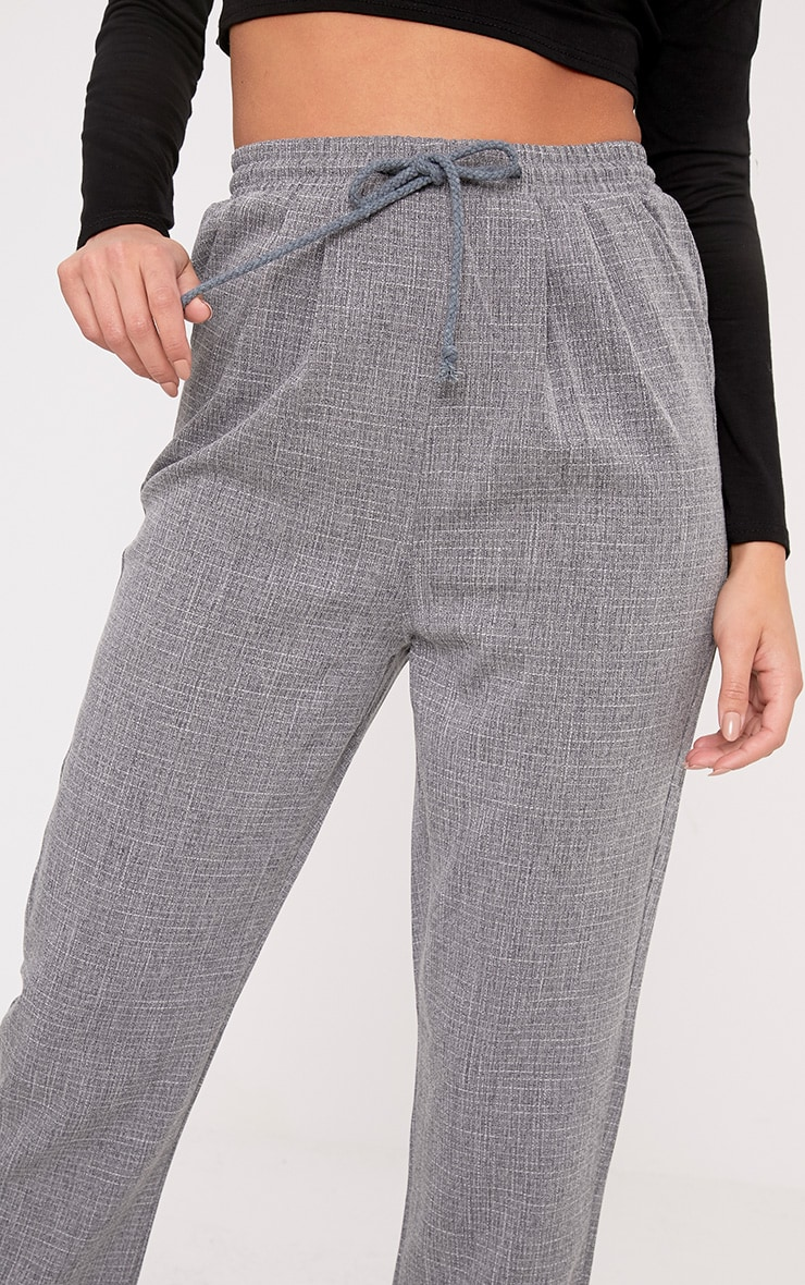Diya Grey Casual Pants 6