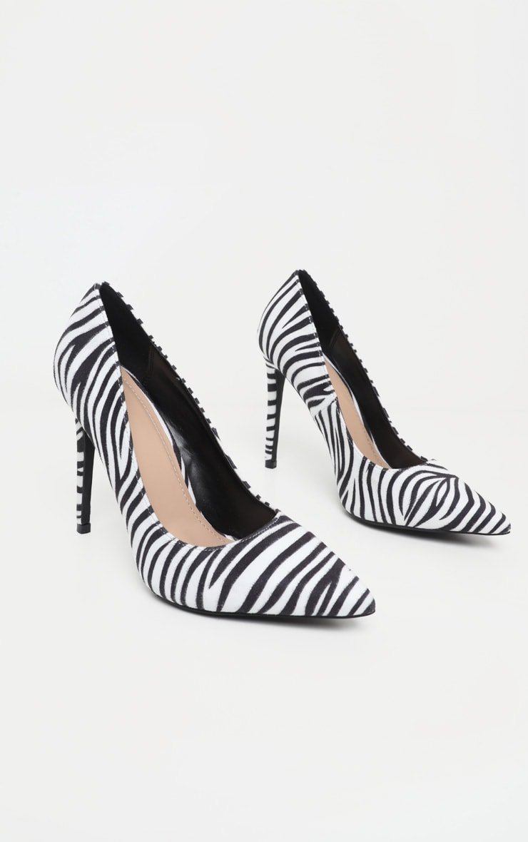 Zebra Heeled Court 3