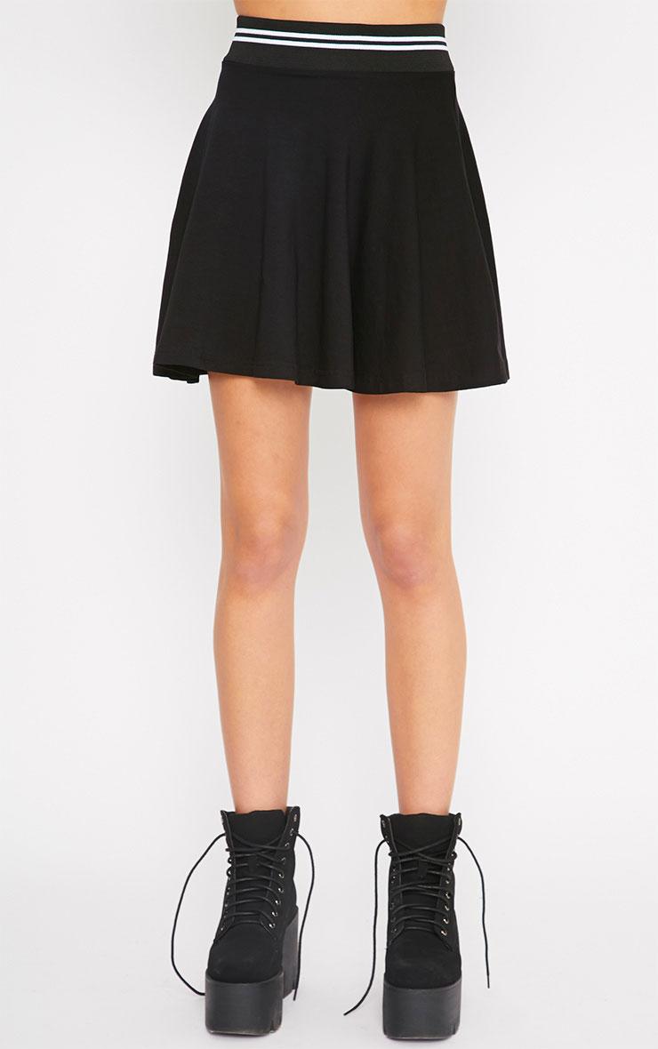 Claudia Black Sports Trim Skater Skirt 4