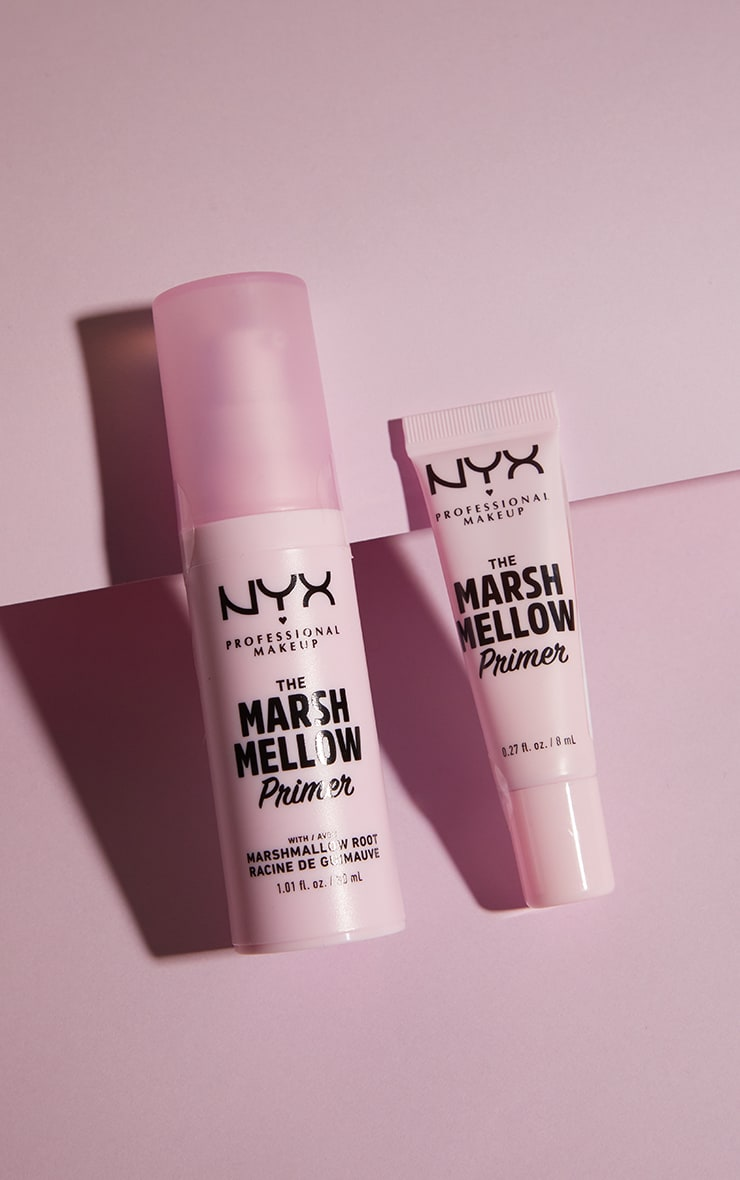 NYX PMU Smoothing Marshmellow Root Infused Super Face Primer 4