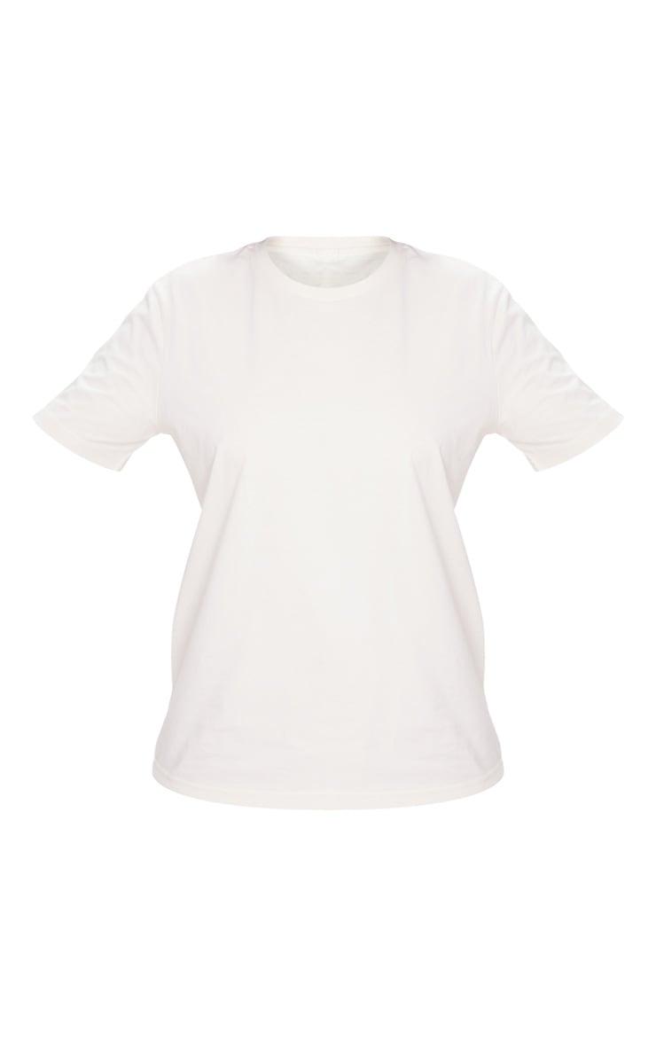 Vintage White Organic T Shirt 5