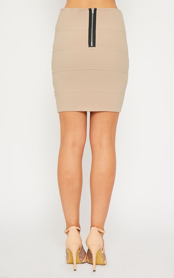 Anel Stone Bandage Mini Skirt  4