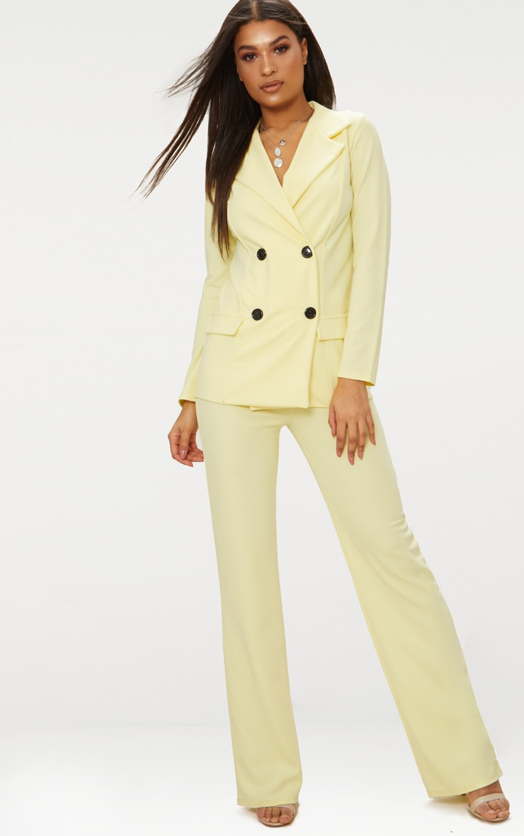 Lemon Straight Leg trouser 1