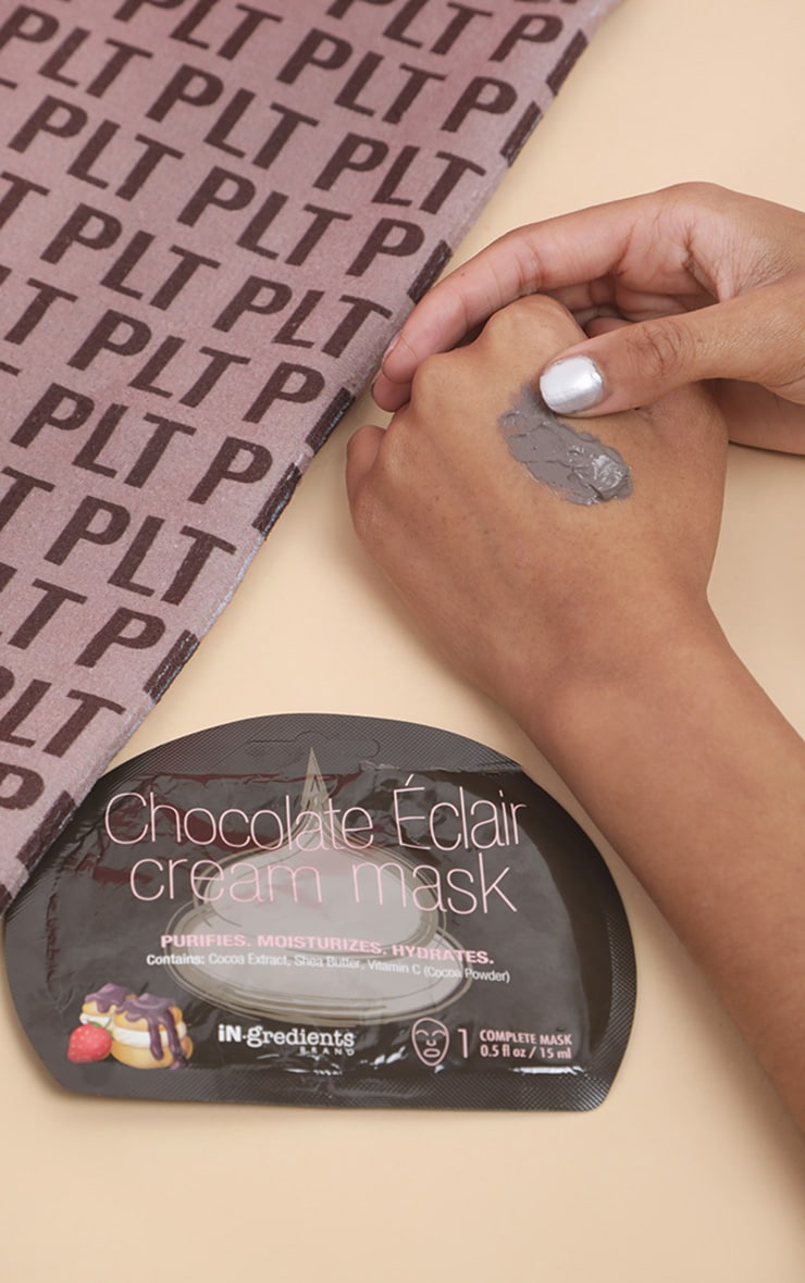 iN.gredients Chocolate Eclaire Cream Mask 1