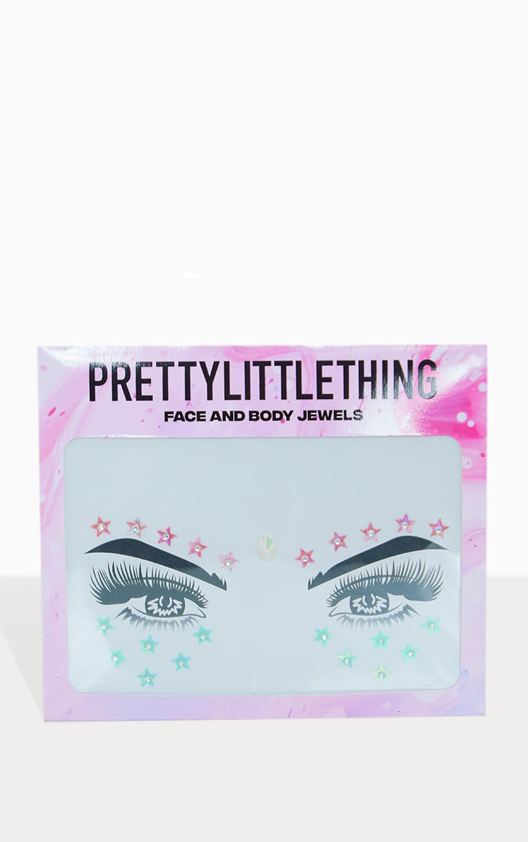 PRETTYLITTLETHING Stars In Her Eyes Face Jewel 3