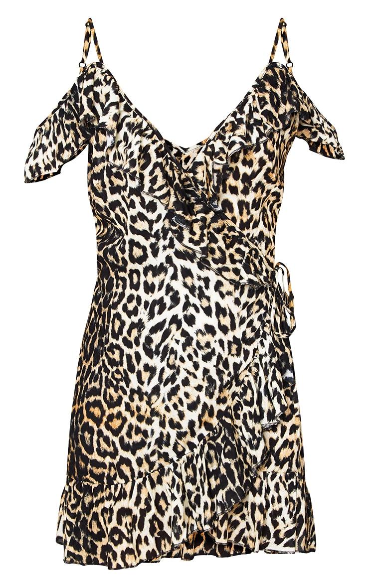 Leopard Print Tea Dress 3