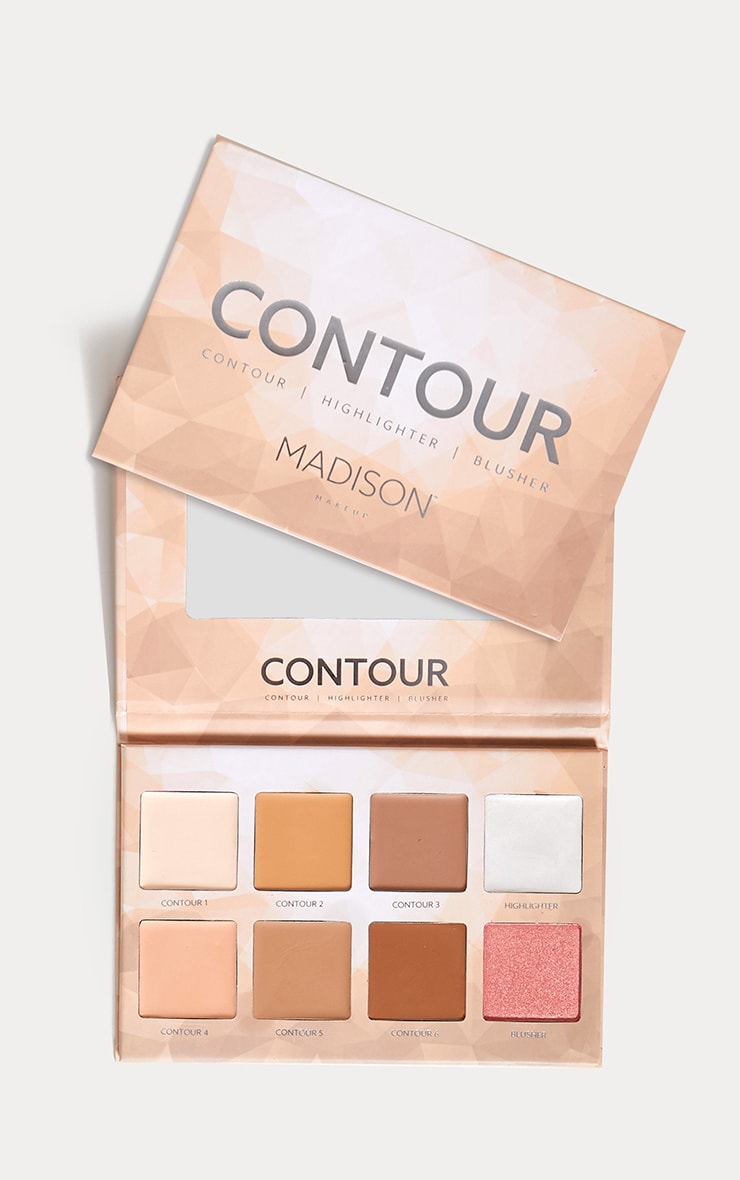 Madison Makeup Contour Highlighter Palette 1
