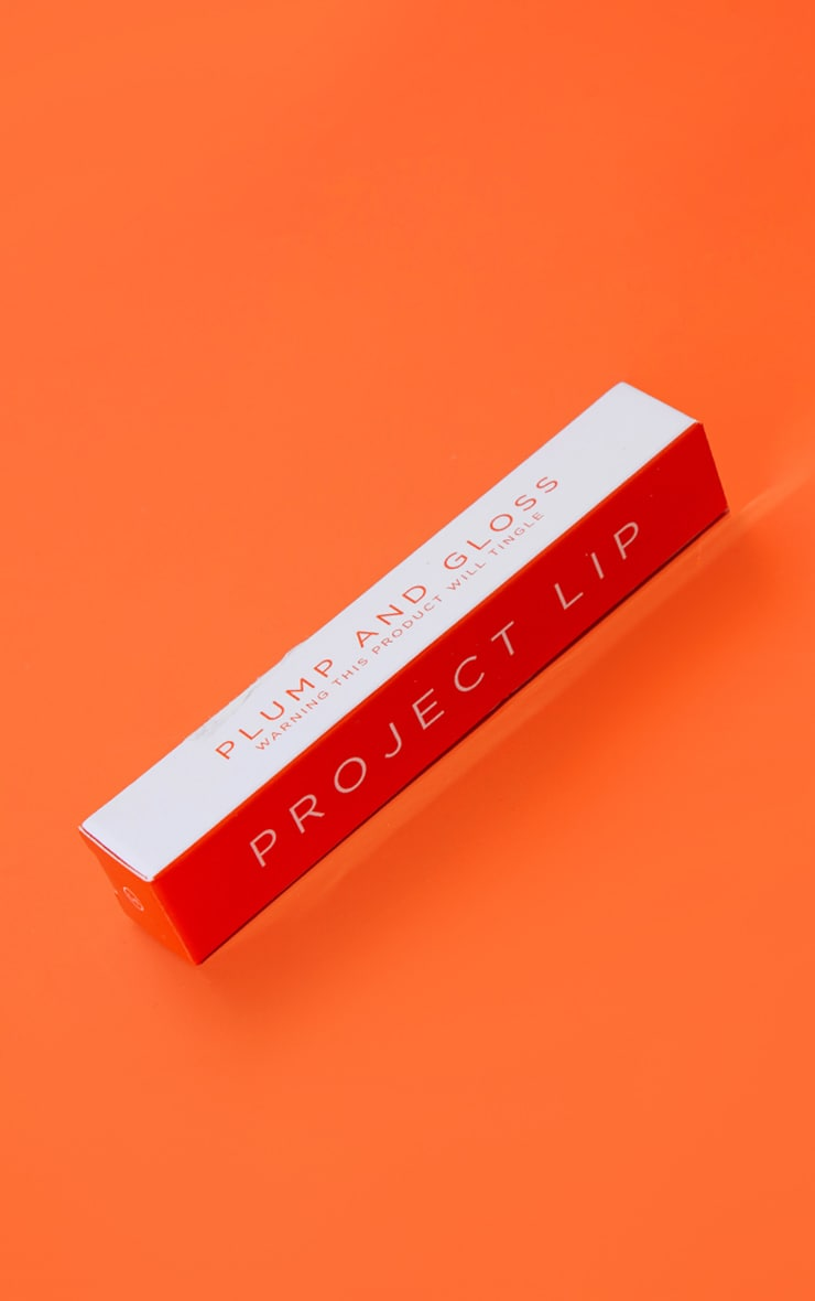 Project Lip XL Plump and Collagen Lip Gloss Flame 2