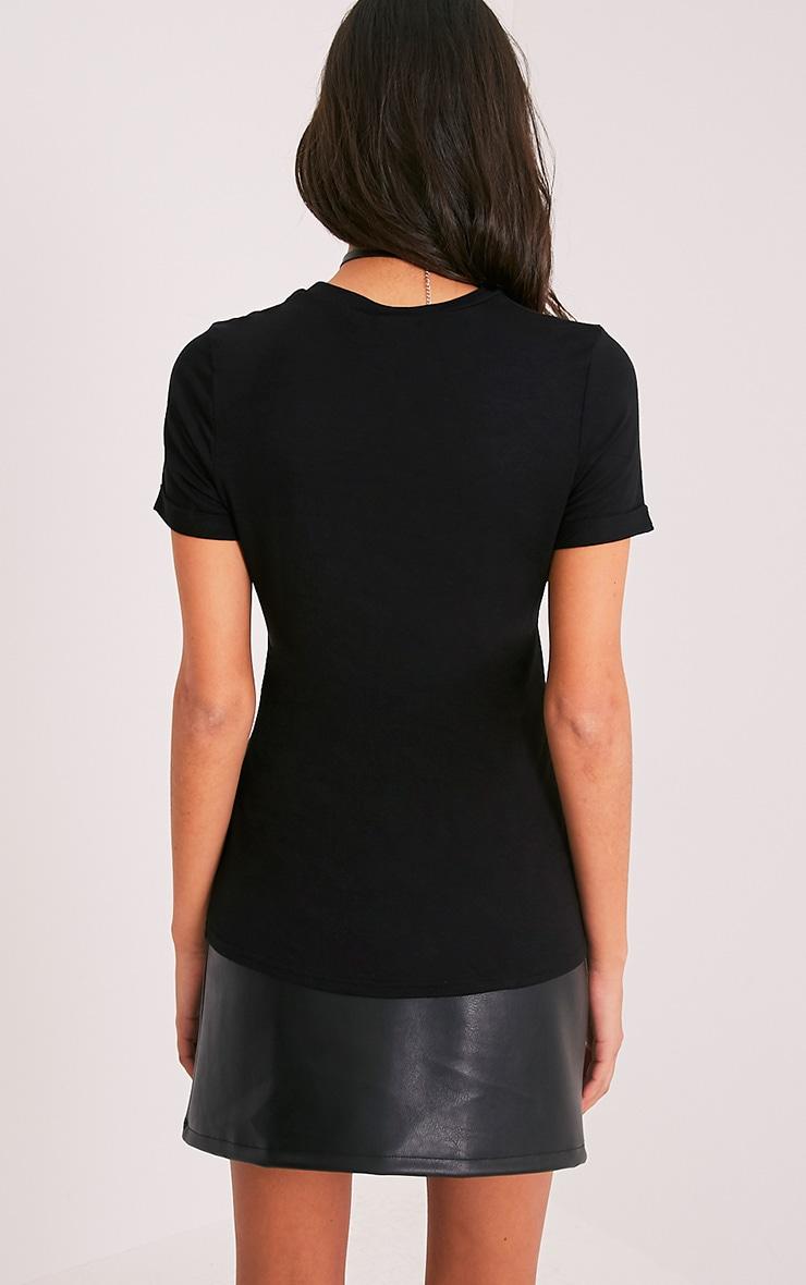 EXPLORE Black Slogan T-Shirt 2