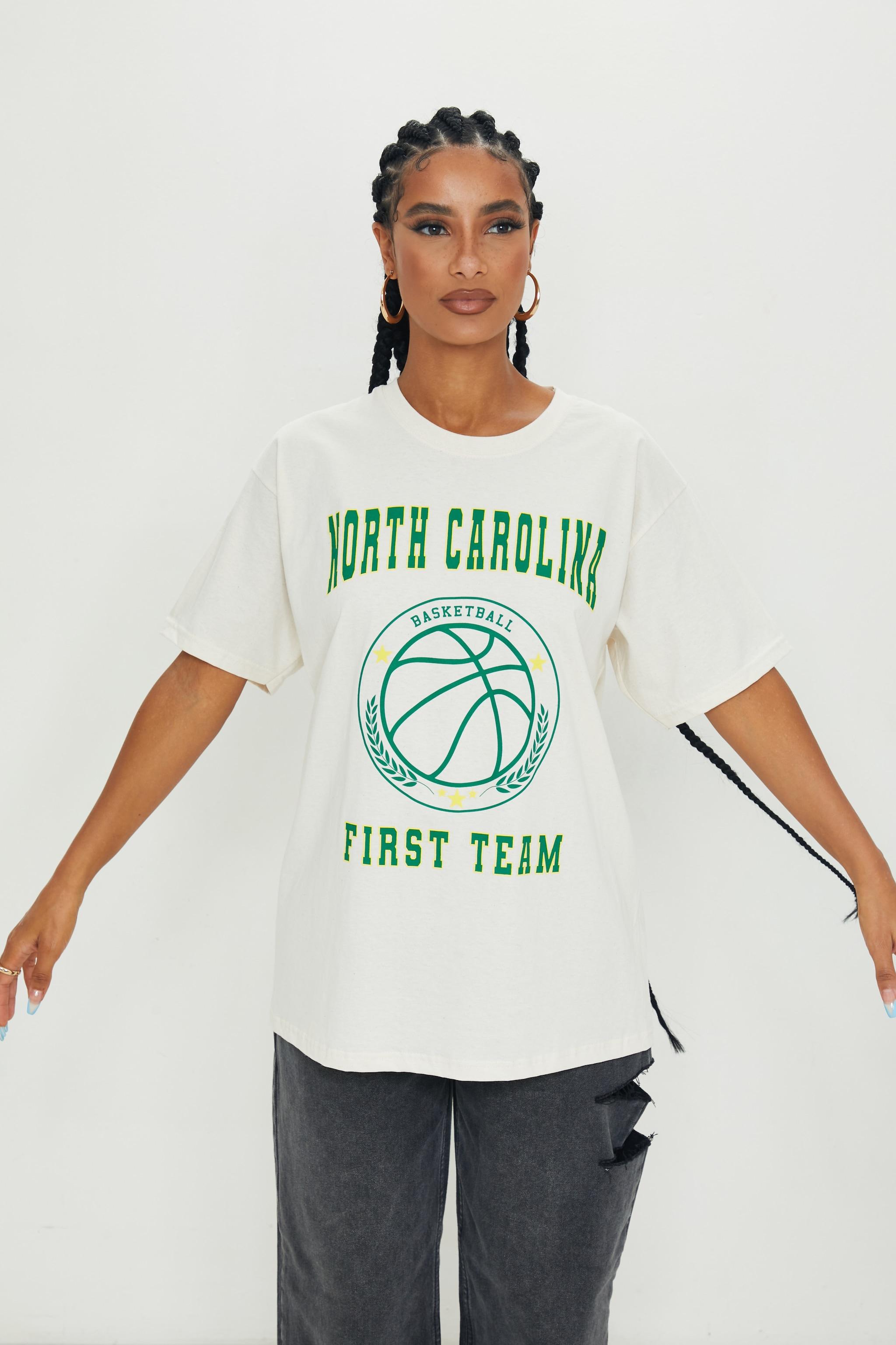 Sand North Carolina First Team Print T Shirt 5