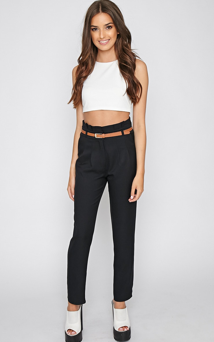 Dolly Black Tailored Trouser 1