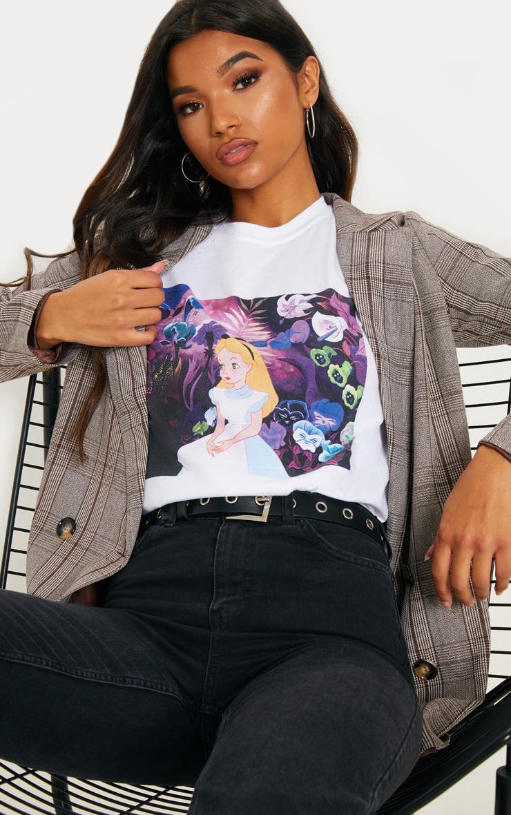 White Snow White Oversized T Shirt  1