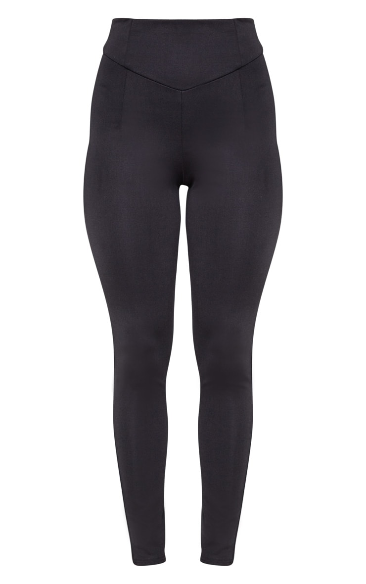 Black Body Shaping High Waist Legging 3