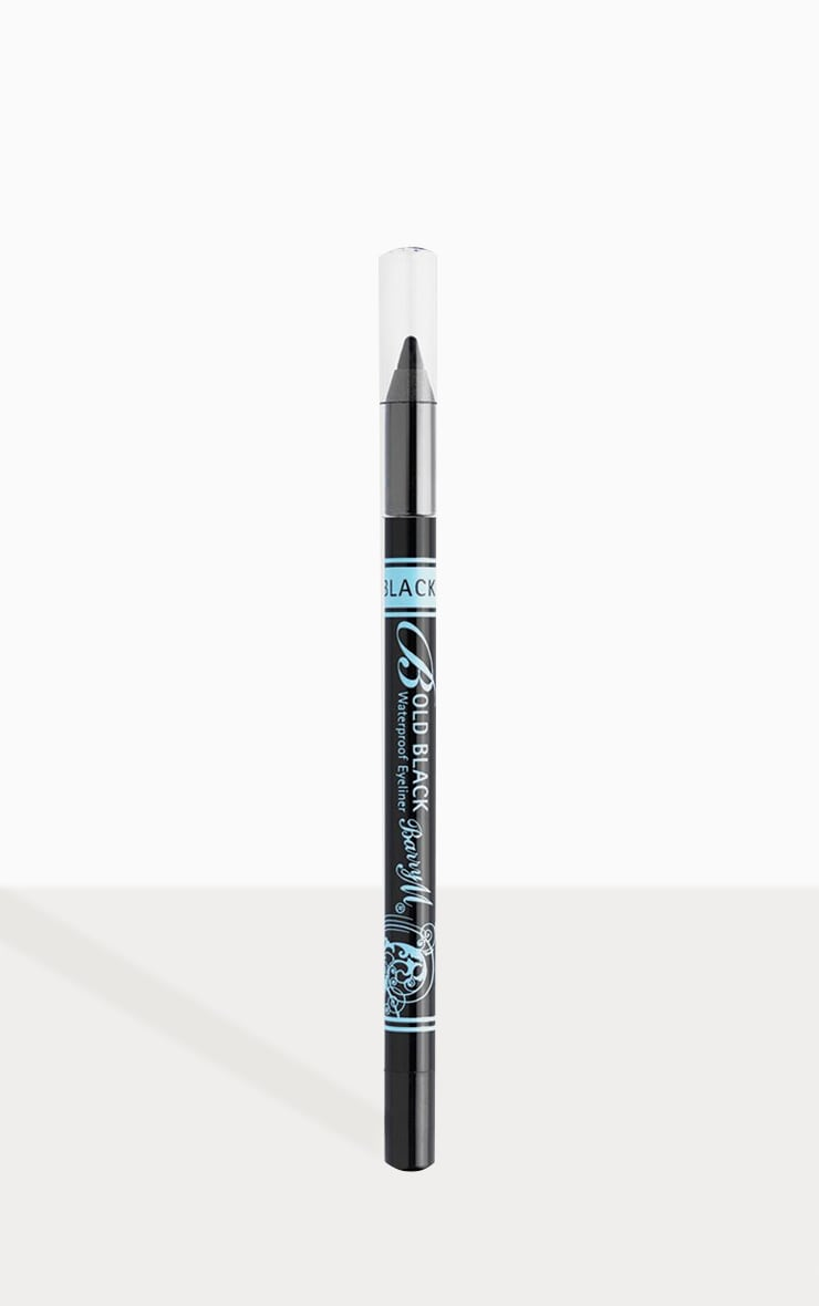 BarryM Bold Waterproof Eyeliner - Black 1