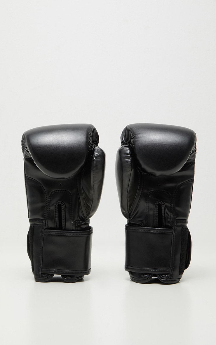 PRETTYLITTLETHING Black Boxing Gloves 5