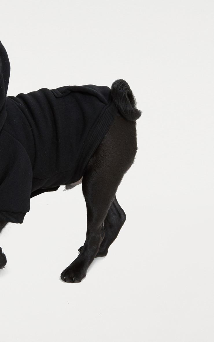 Black Doggy Hoodie  3