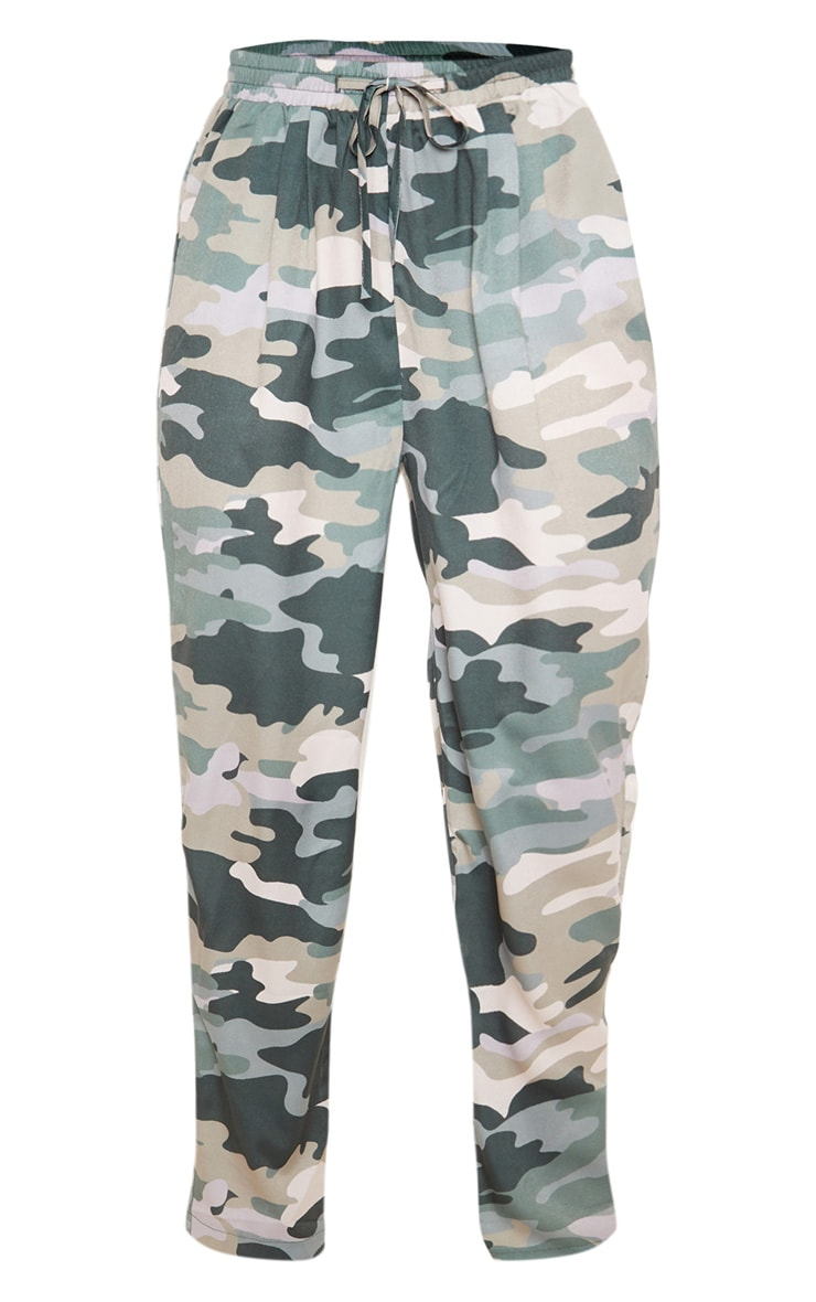 True Camo Print Cigarette Pants 3
