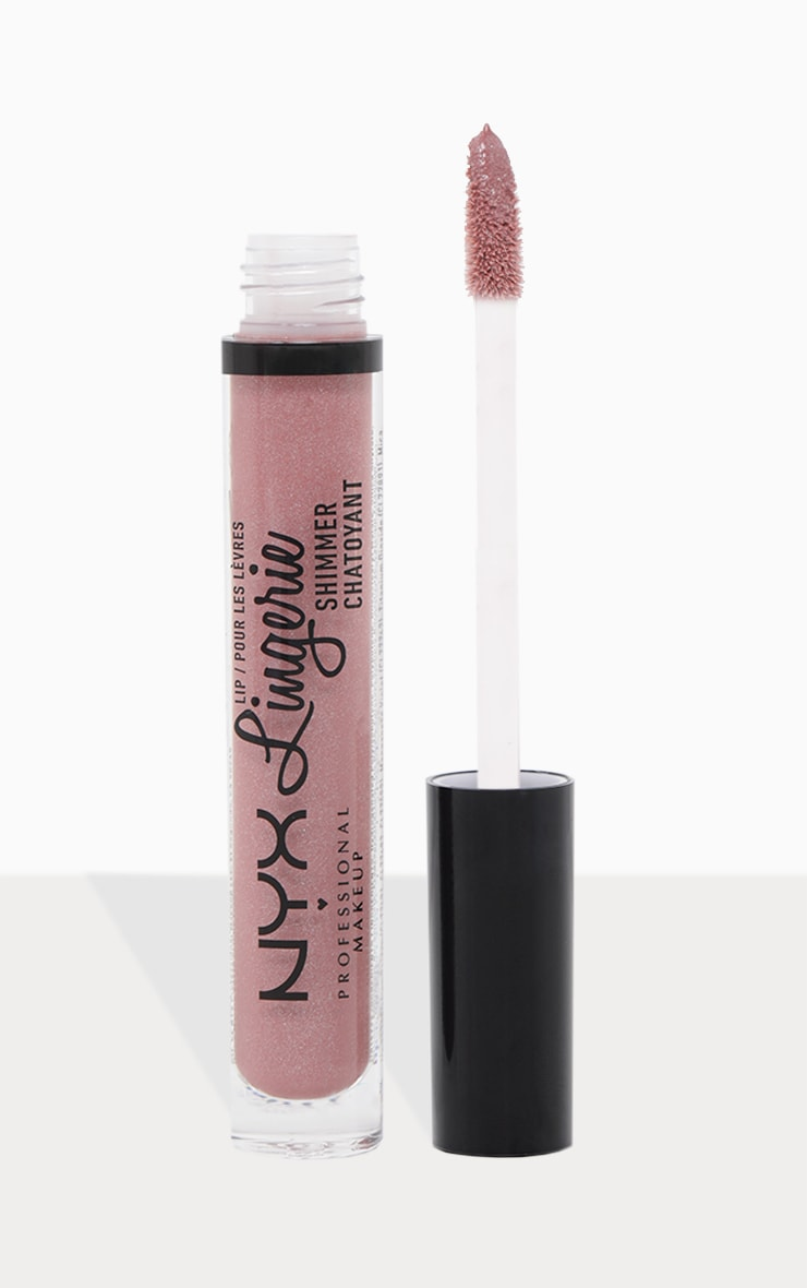 NYX Professional Makeup Lip Lingerie Shimmer Honeymoon 1