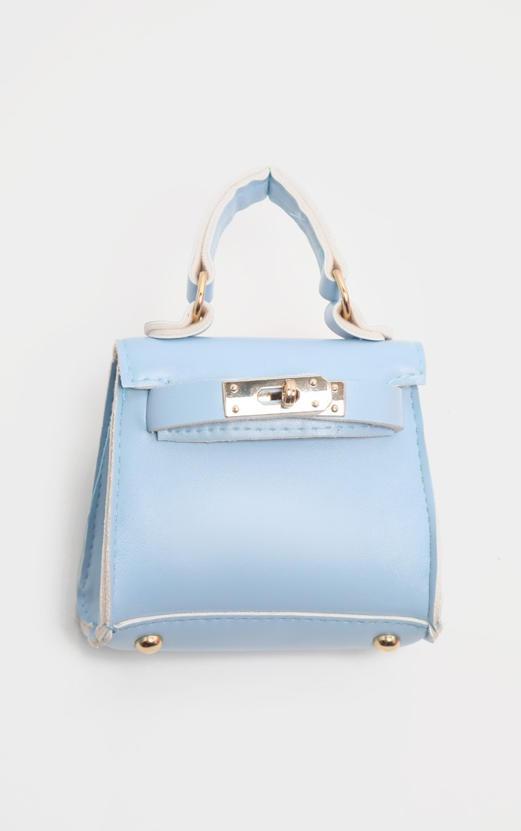 Powder Blue Micro Mini Bag 5