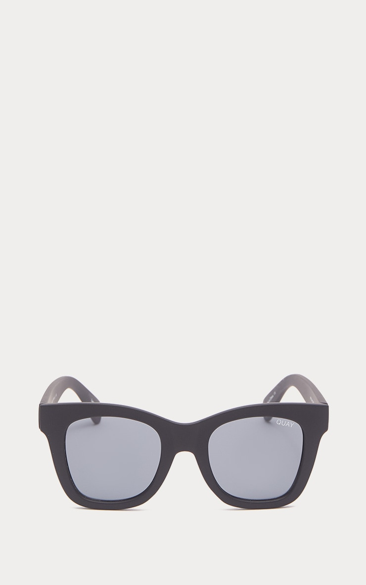 QUAY AUSTRALIA Black After Hours Oversized Sunglasses 2