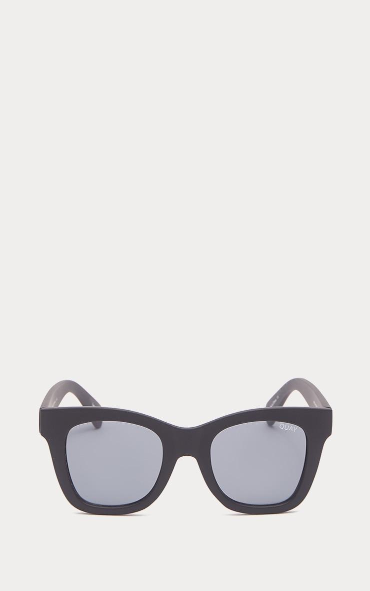 QUAY AUSTRALIA Black After Hours Oversized Sunglasses 3
