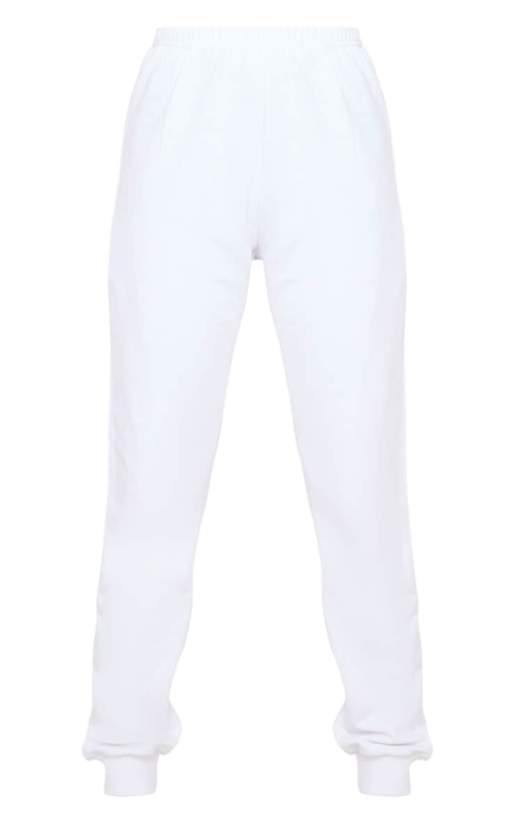 White Skinny Joggers 3