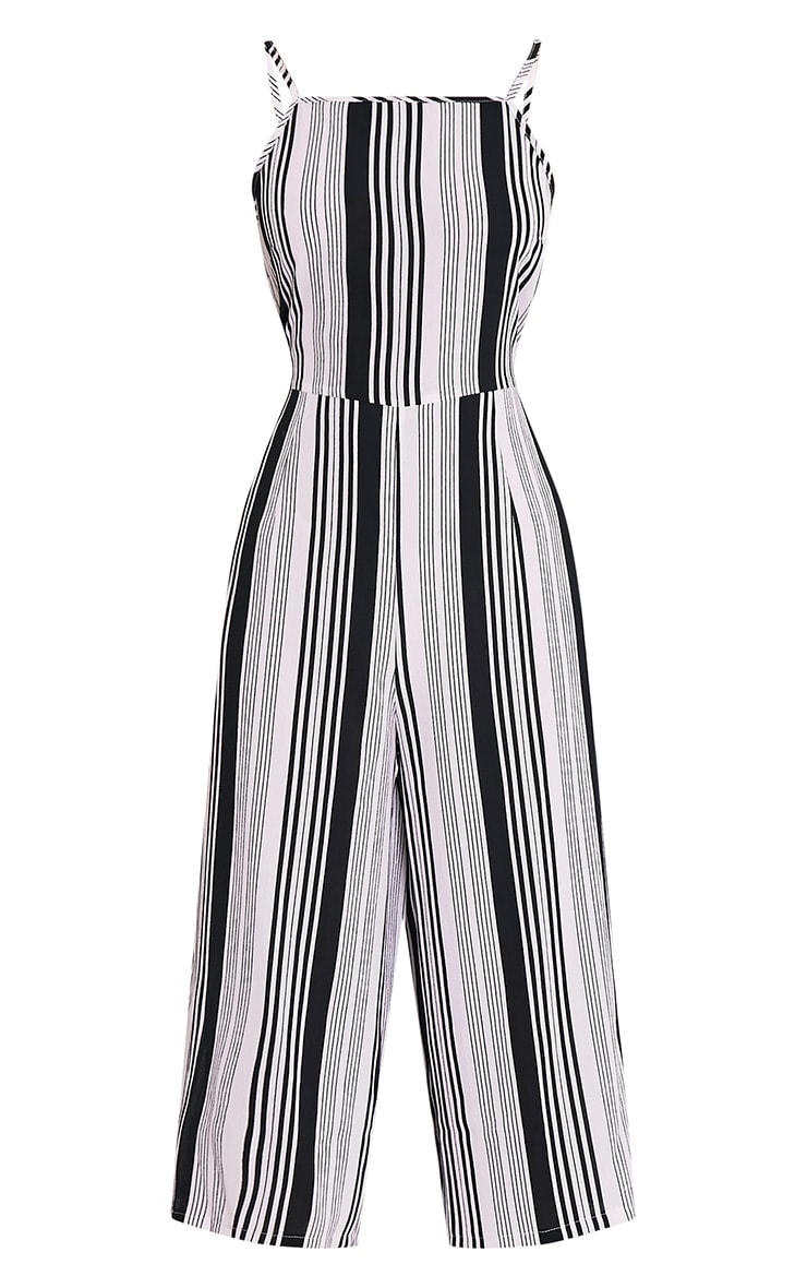 Penny combinaison jupe-culotte à rayures monochromes 3
