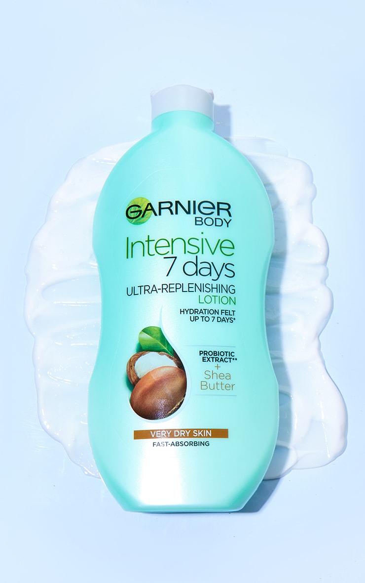 Garnier Intensive 7 Days Shea Butter Body Lotion Dry Skin 400ml 1