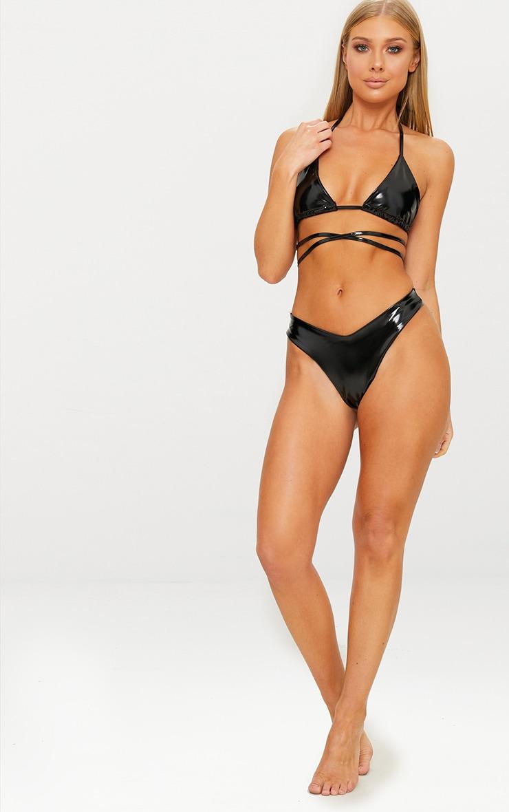 Black Vinyl Bikini Top 4