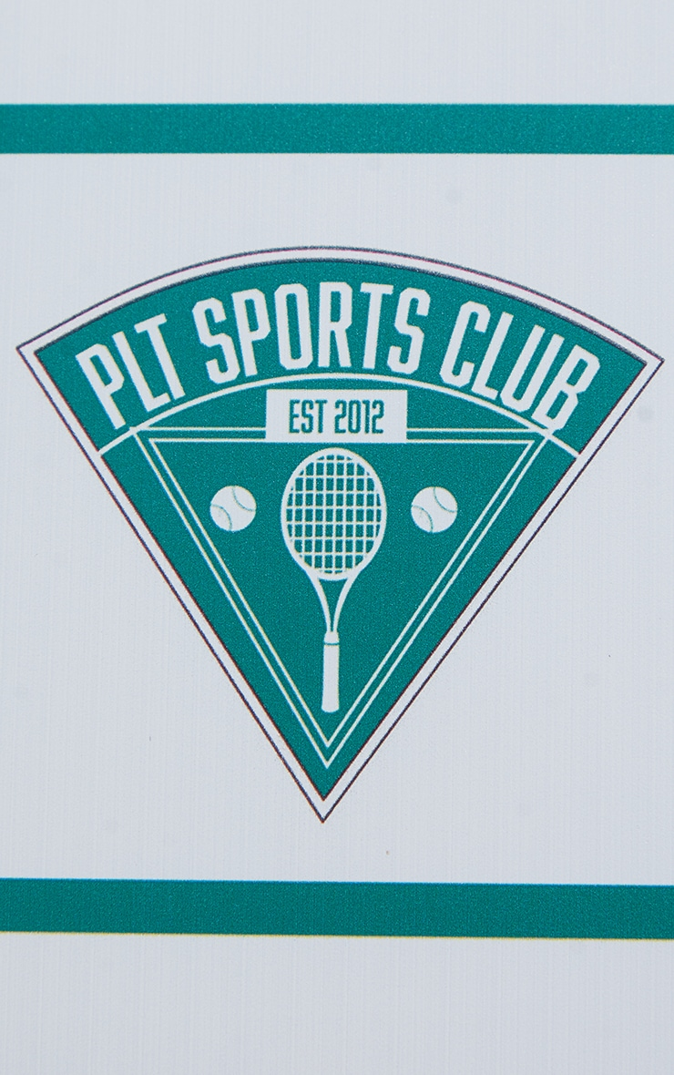 PRETTYLITTLETHING White Tennis Club iPhone X/XS/11 Pro Case 4