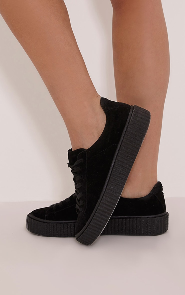 Cia Black Creeper Trainers 2