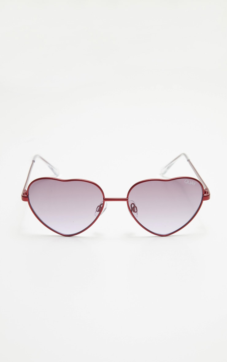 QUAY AUSTRALIA Purple X Elle Ferguson Collaboration Kim Sunglasses 2