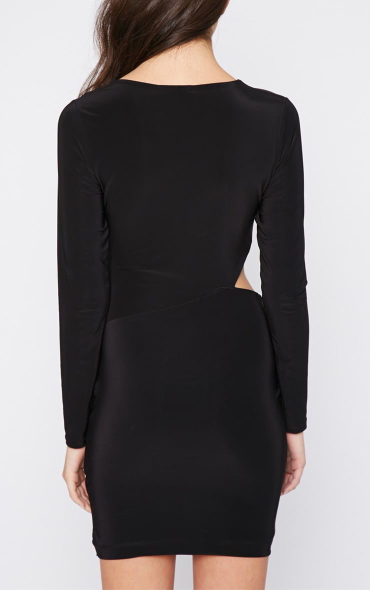 Unay Black Pin Dress 2
