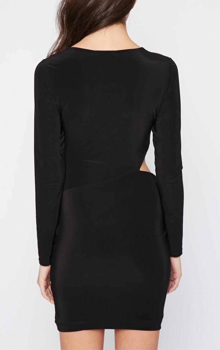 Unay Black Pin Dress 2