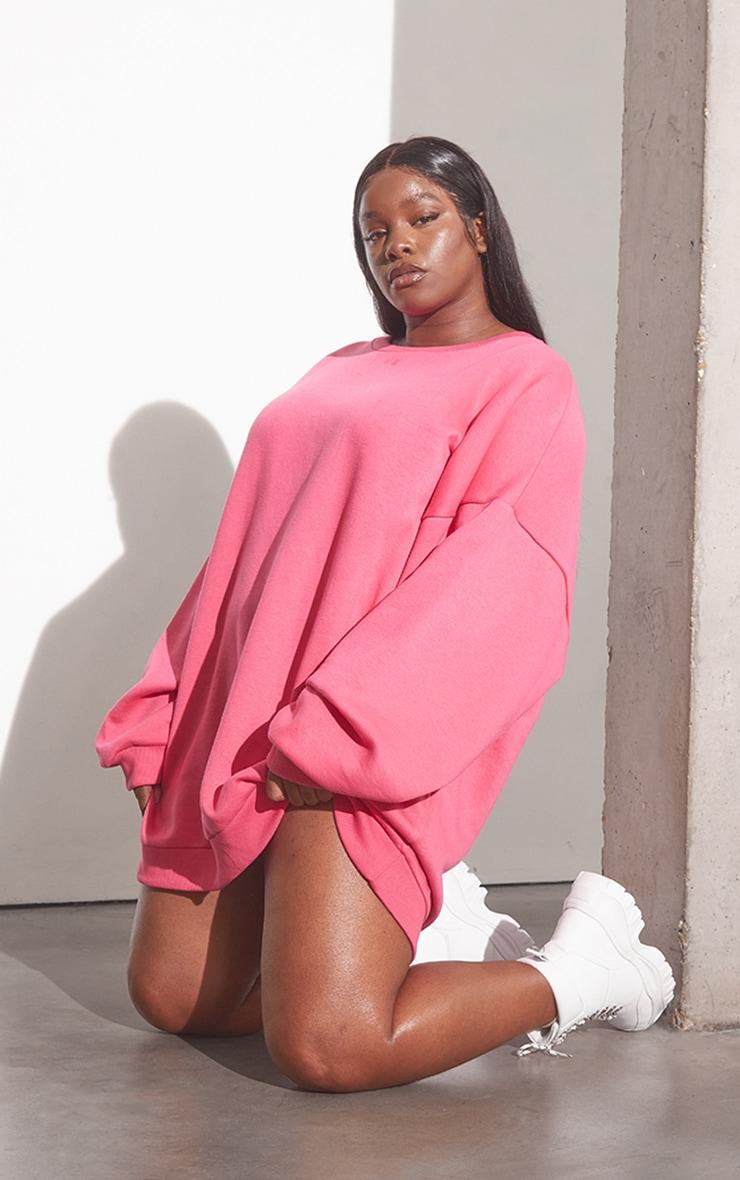RENEW Plus Pink Oversized Jumper Dress 1