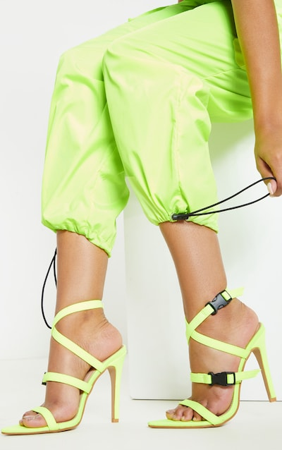 be490e9c7a7 Lime Point Toe Buckle Detail Sandal