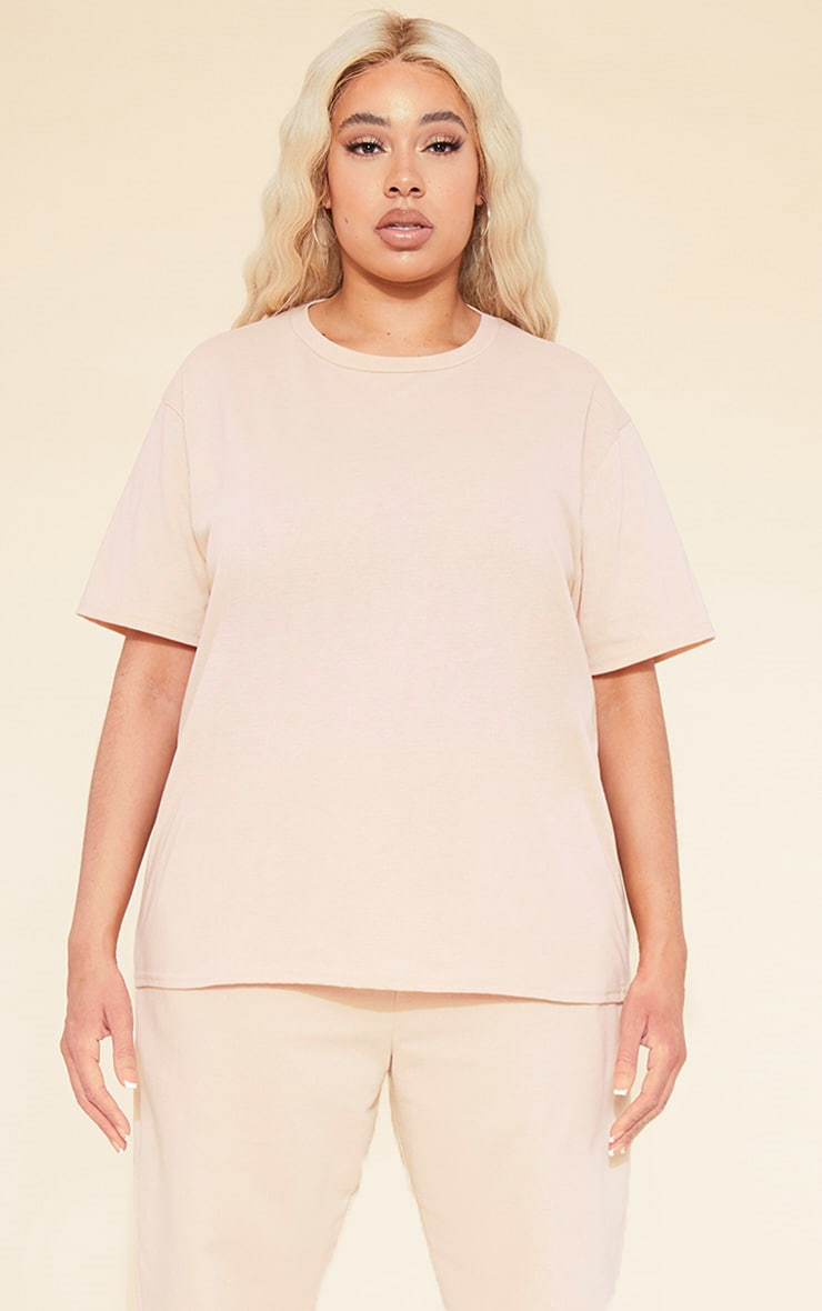 RECYCLED Plus Deep Nude T Shirt
