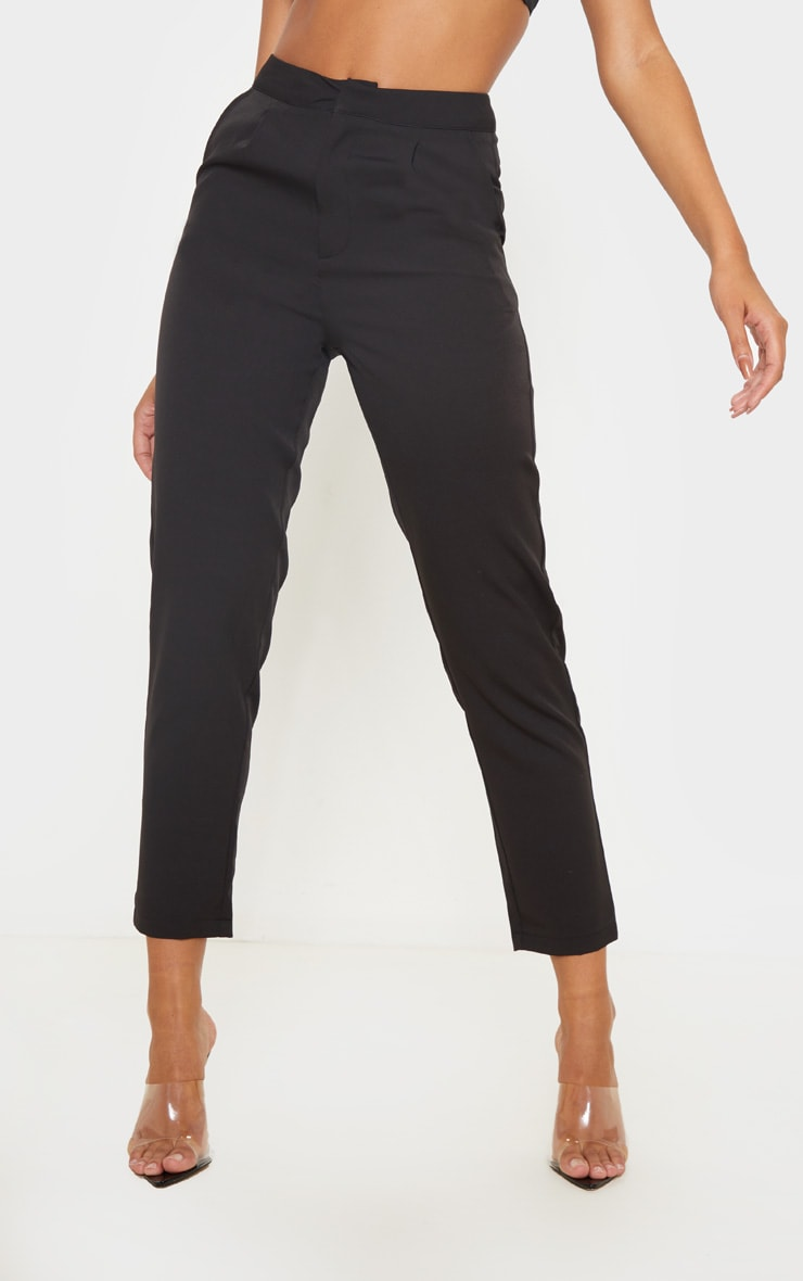 Black Cropped Trousers 2