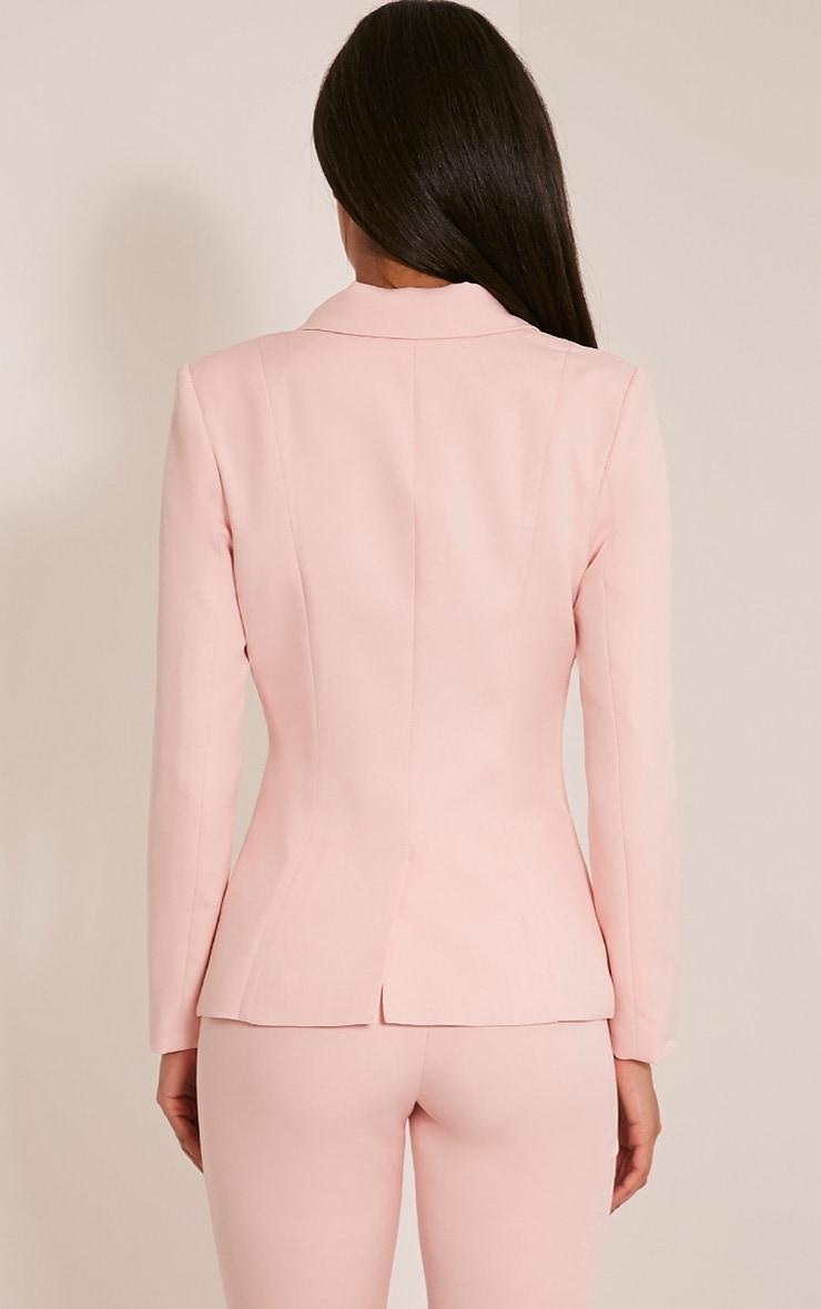 Avani veste de tailleur rose 2
