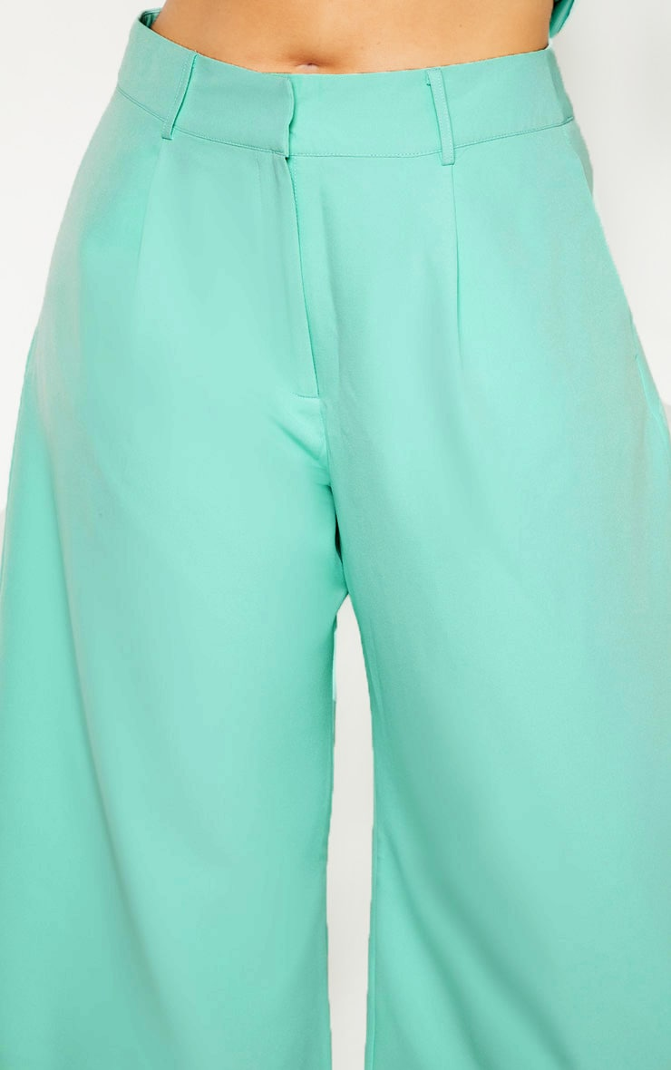 Plus Mint High Waist Culottes 5
