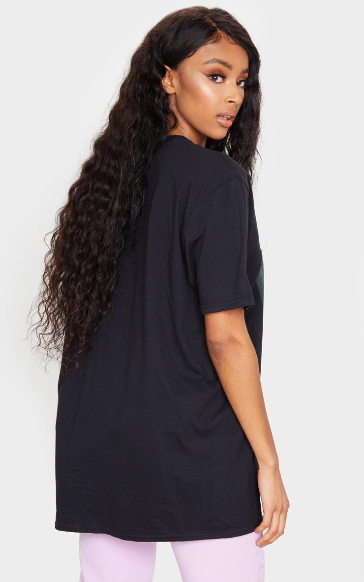 PRETTYLITTLETHING Black Printed Baby Girl T Shirt 2