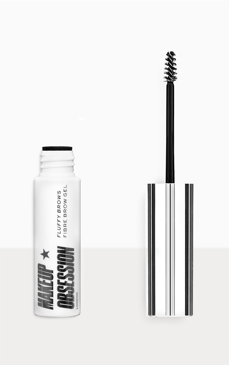 Makeup Obsession Fluffy Brow Fibre Brow Gel Ash Brown 1