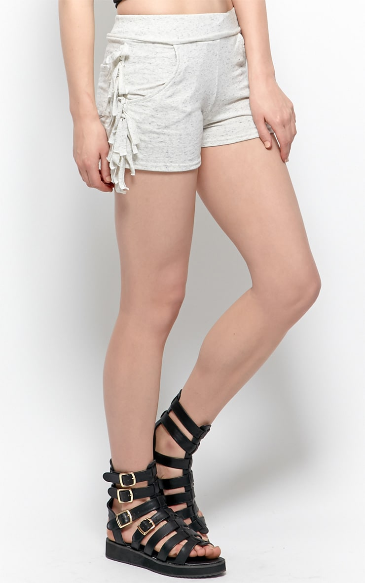 Cammie Grey Jersey Shorts 3