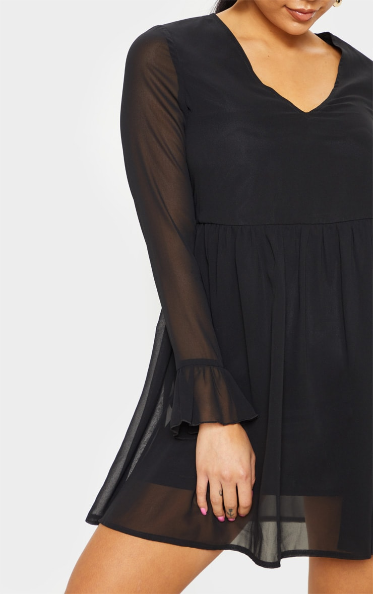 Petite Black Smock Dress 5