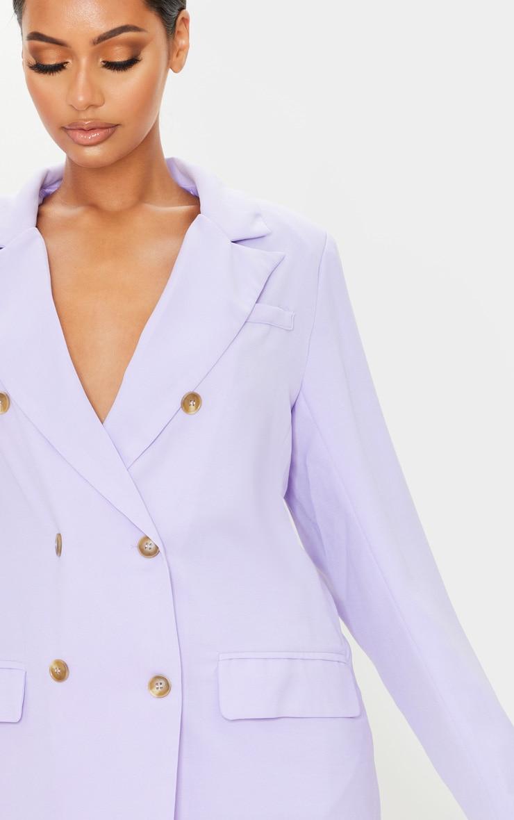 Lilac Tailored Woven Blazer 4